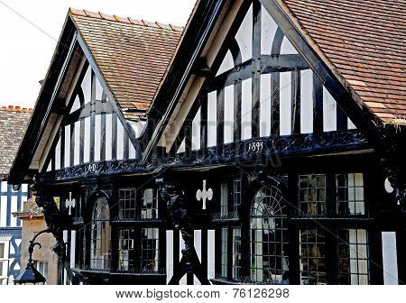 Tudor building, Chester.