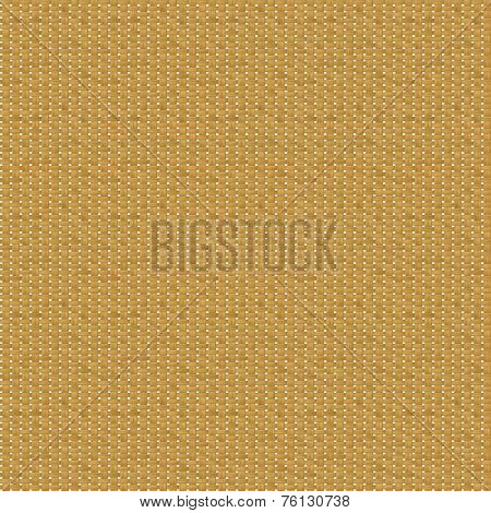 Seamless Rattan Texture On White Background