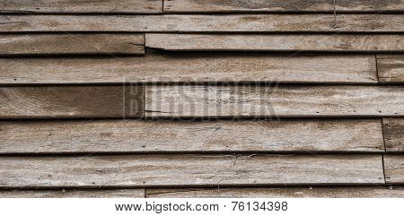 Old Discolored Wood Texture Background