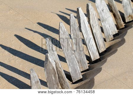 Silted barrier