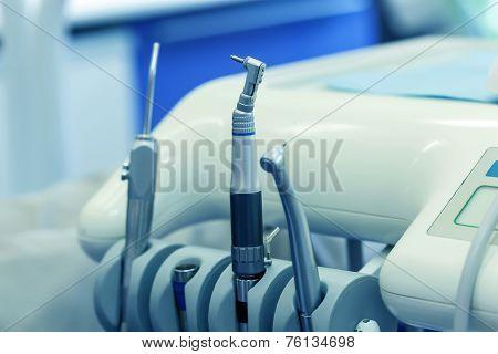 Dentist Tools Closeup