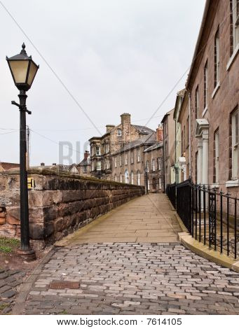 Walk The Walls At Berwick Upon Tweed In Portrait Format
