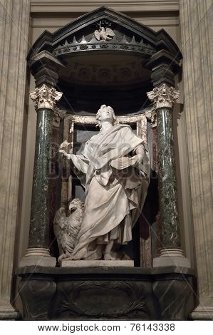 Statue Of John The Evangelist The Apostle