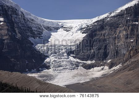Dome Glacier And Snow Dome