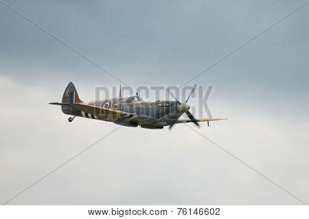 Veteran Raf Spitfire Fighter