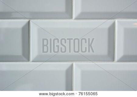 White Subway Tile Background