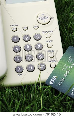 Credit Cards And Phone.