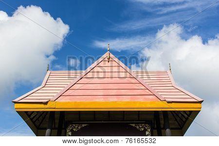 Wood Roof Thai Style