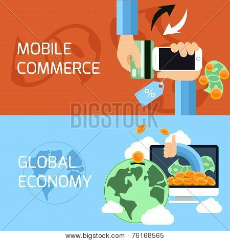 Concept for mobile commerce and global economy