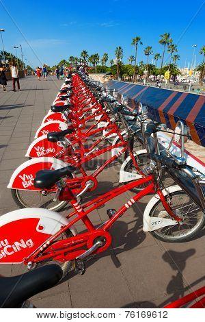 Bicing Vodafone - Barcelona Spain