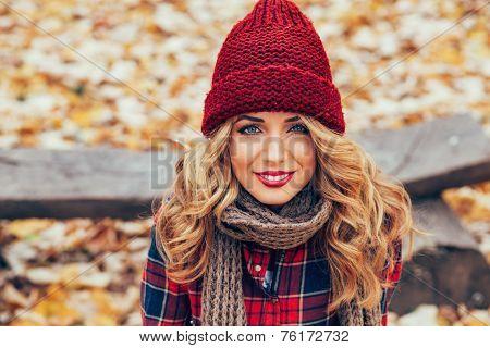 Happy Blonde Portrait