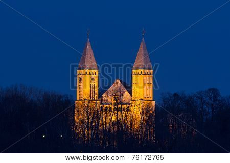 Church In The Evening