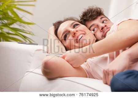 Man And Woman Loving Each Other