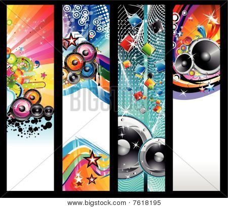 Discoteque Flyer Background