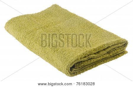 towel. cotton towel on a white