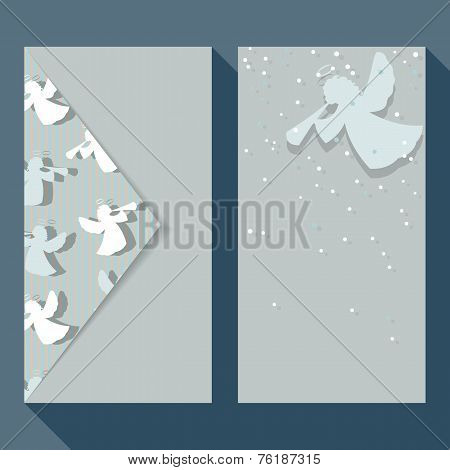 Christmas Angels Business Card Set