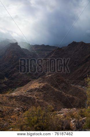 Gran Canaria, Barranco De Aldea