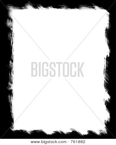 Black Grunge Border