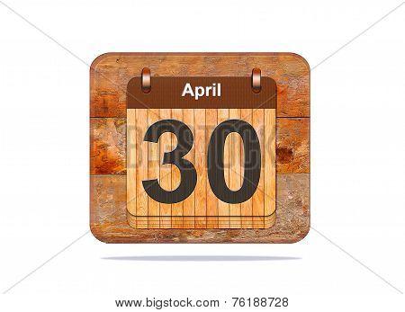 April 30.