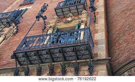 Vintage Balcony