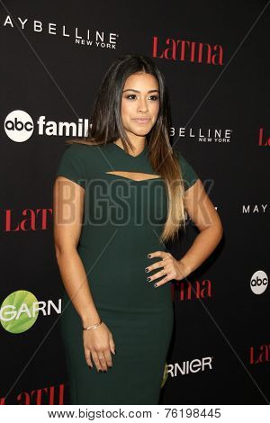 LOS ANGELES - NOV 13:  Gina Rodriguez at the Latina Magazine's '30 Under 30' Party at the Mondrian Hotel on November 13, 2014 in West Hollywood, CA