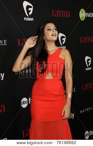 LOS ANGELES - NOV 13:  Maria Mesa at the Latina Magazine's '30 Under 30' Party at the Mondrian Hotel on November 13, 2014 in West Hollywood, CA