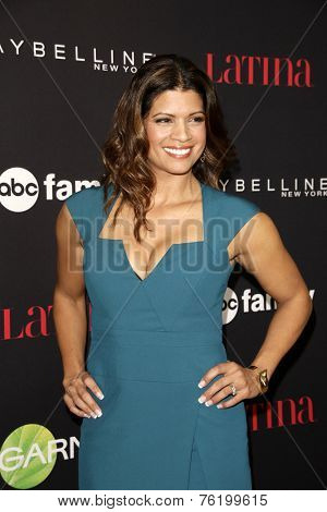 LOS ANGELES - NOV 13:  Andrea Navedo at the Latina Magazine's '30 Under 30' Party at the Mondrian Hotel on November 13, 2014 in West Hollywood, CA