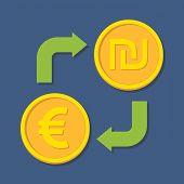 image of shekel  - Currency exchange - JPG