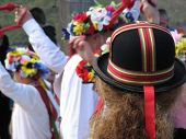 Colorful Hat Of Morris Dancers