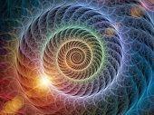 stock photo of math  - Spiral series - JPG