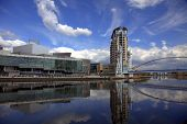 Salford Quays in Manchester