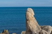 picture of grandfather  - The Grandfather Rock in Koh Samui  - JPG