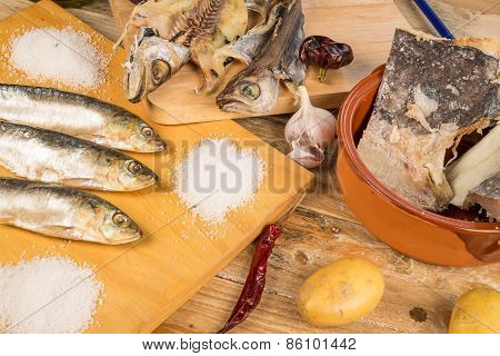 Assorted Dried Fish