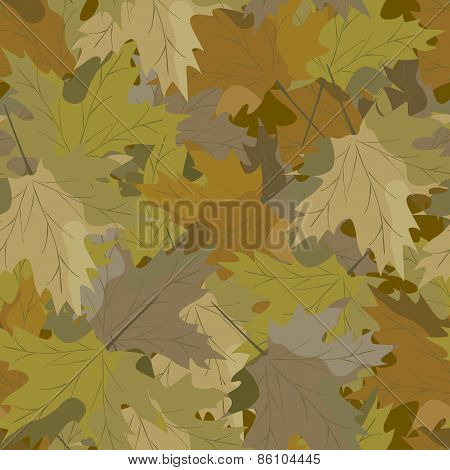 camouflage background maple