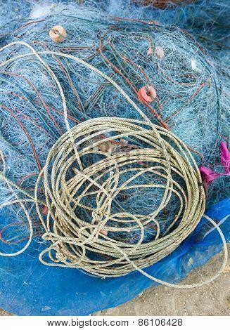 Fisherman Blue Net Catch