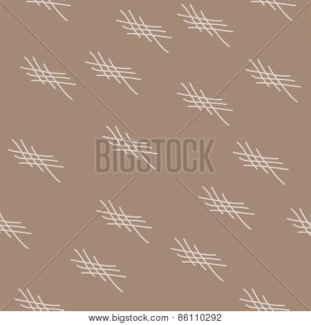 Intersecting Stripes On A Beige Background