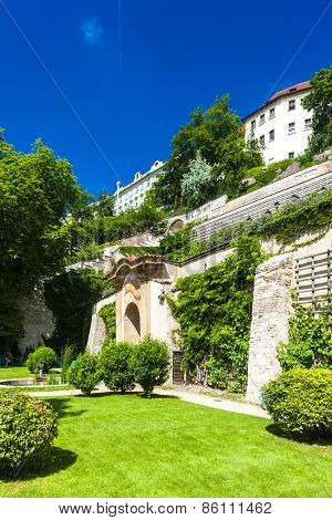 Ledeburska Garden and Prague Castle, Prague, Czech Republic