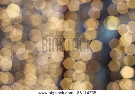 Bokeh Defocused Lights  Abstract Background