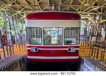 Cablecar in Wakayama Japan