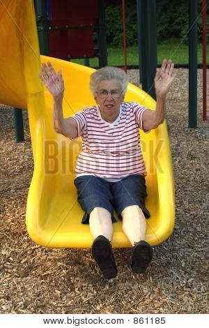 Sliding Grandmother 2