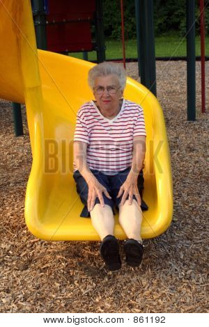 Sliding Grandmother