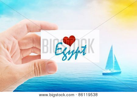 Summer Vacation On Egypt Beach