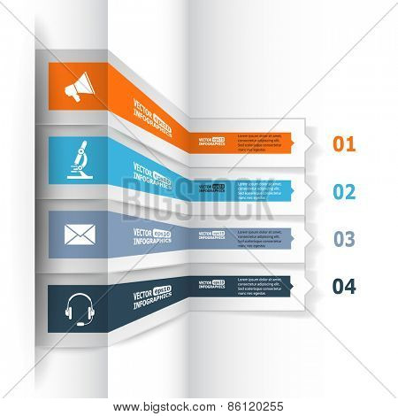 Modern 3d infographics for e-business, diagrams, charts, web sites, mobile applications, banners, corporate brochures, book covers, layouts, presentations etc. Vector eps10 illustration