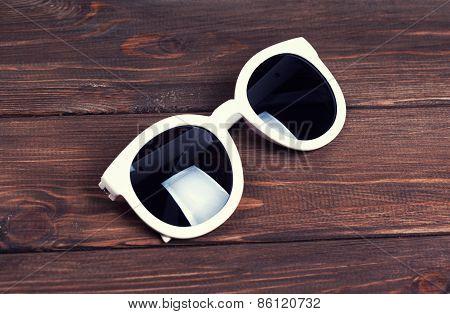 Stylish White Sunglasses
