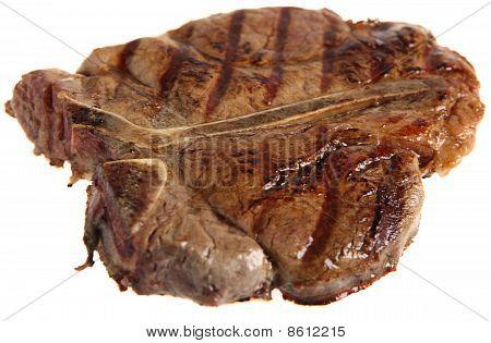 Porterhouse Steak Side View