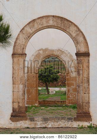Ruins in Betancuria