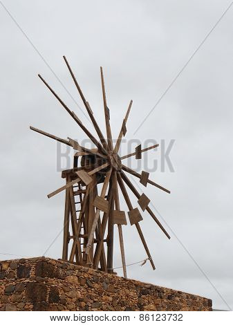 The wooden mill of Valles de Ortega