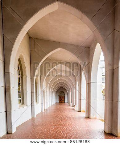 Door Beyond Arches
