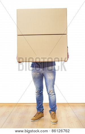 Man With Box.