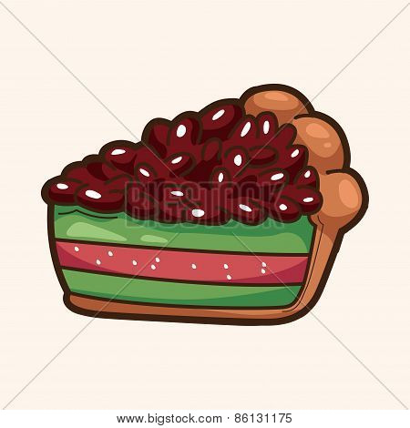 Decorating Cake Theme Elements Vector,eps10